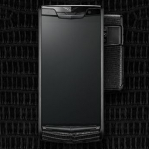 vertu signature touch蜥蜴皮